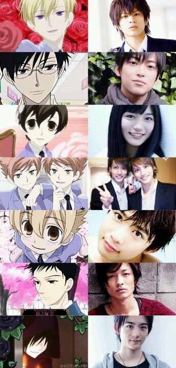 Ouran High School Host Club. I find honeysenpais voice