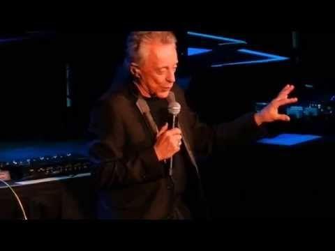 "▶ Frankie Valli introducing Bob Gaudio ""Can't Take My Eyes Off You"" (The Ryman 6/15/14) - YouTube"