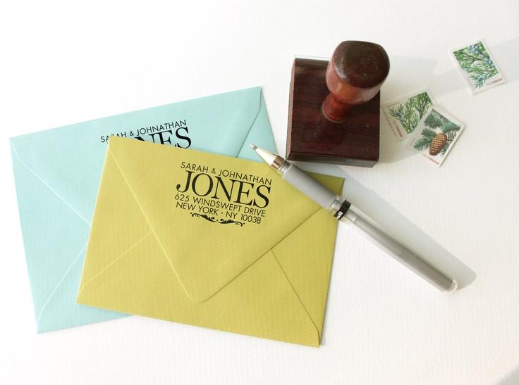 Custom return address stamp BIG SUR DESIGN with  wood handle, via Etsy.Returns Address Stamps, Gift Ideas, Big Sur, Custom Wood, Handles Address, Fun Ideas, Custom Returns, Design, Personalized Custom