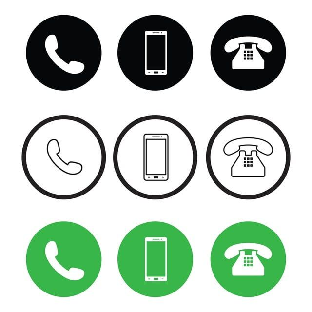 Phone Icon Vector Call Icon Vector Smart Phone Icon Vector Flat Design Vector Illustration Phone Icons Call Icons Smart Icons Png And Vector With Transparent Call Logo Phone Icon Business Card