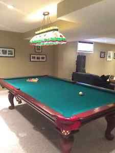 9ft Connelly Pool Table with Accessories Ottawa Ottawa / Gatineau Area image 1