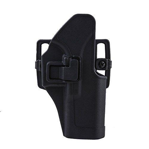 G�rtelholster, Image Tactical Holster Jagd-Gewehr-Halter Schnell Pistolenholster Quick Release Holster Rechte Right Hand Carry Paddle Holster, rechts f�r Glock 17/22/31