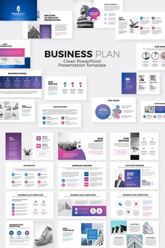 Business Plan PowerPoint Presentation Template in 2020