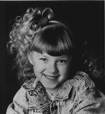 Jodie Sweetin as Stephanie Tanner Full House rare photoshoot adorable