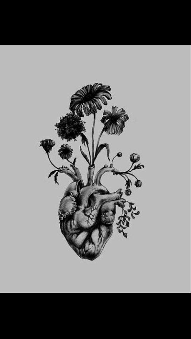 Flowered heart