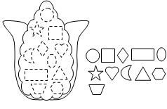 Indian Corn Shape cut and paste activity from Making