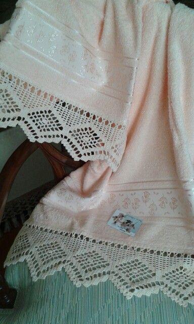 17 best images about puntillas para toallas y manteles on - Puntas de ganchillo ...