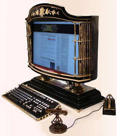 steampunk computer | steampunk-computer | Gateavisa