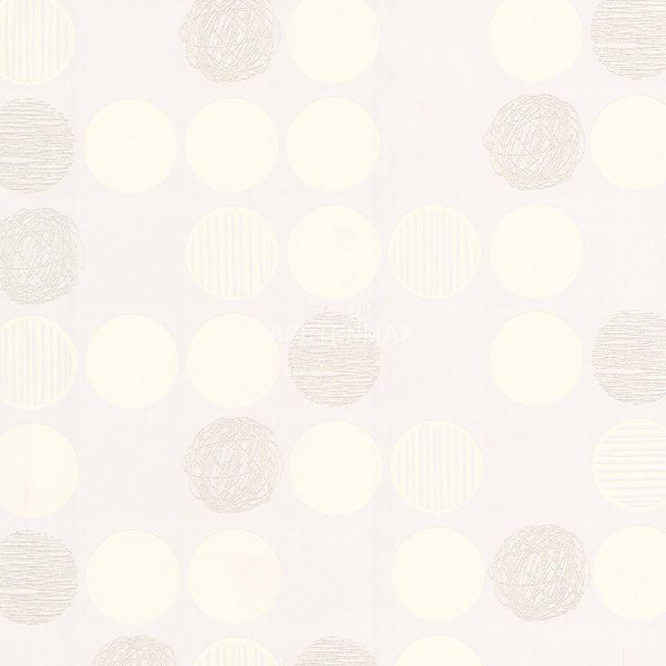 """Ein modernes Muster in weiß zeigt die Vliestapete 3041-17 aus der """"Life 2"""" von AS Creation. Online günstig kaufen."""