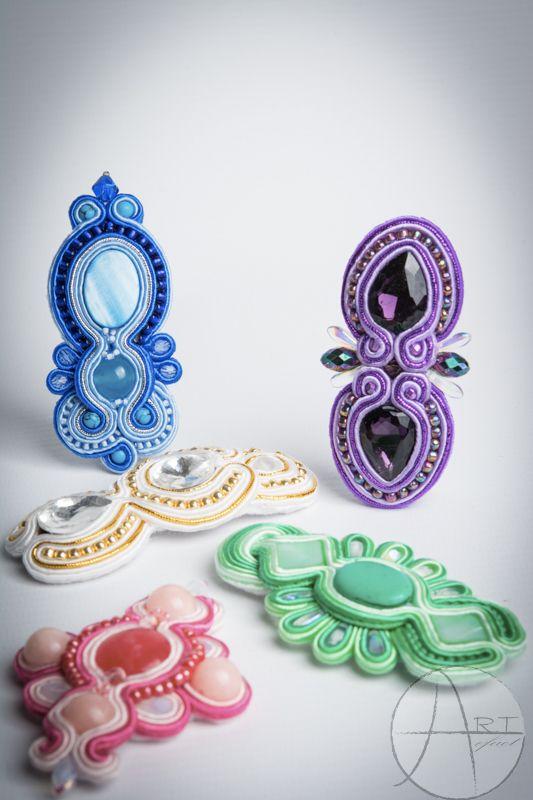 Soutache jewelry: Opaski :)