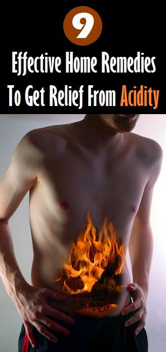 Home Remedies for Acidity..