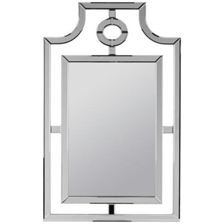 "Cooper Classics Silverson 30"" x 48"" Frameless Wall Mirror -"