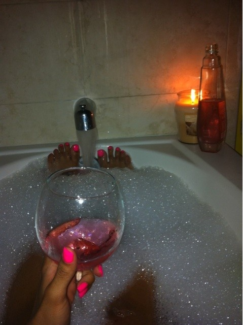 Bubble Bath Wine Candles Winter Smiles Pinterest Bubble Baths Nice And My Mom