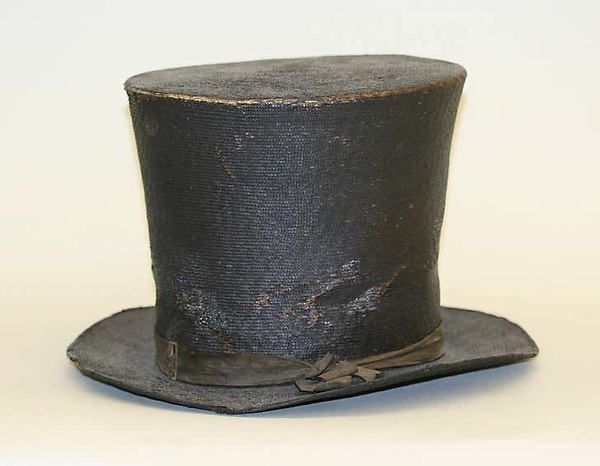 Hat, ca. 1805, American or European, Made of straw