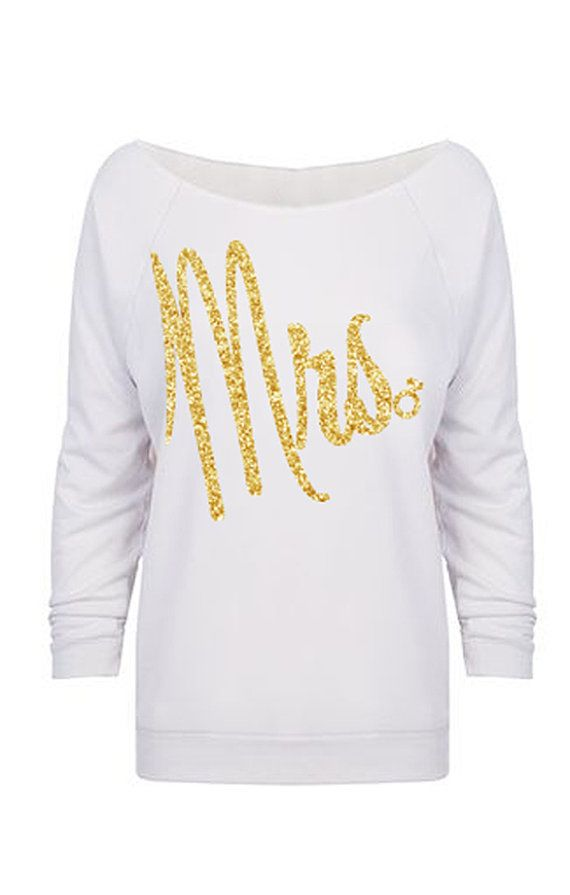 MRS. Glitter Bride Long Sleeve #Bride #Sweater by #NobullWomanApparel, for only $32.99! Click here to buy https://www.etsy.com/listing/241558185/mrs-glitter-bride-long-sleeve-sweater?ref=shop_home_active_20