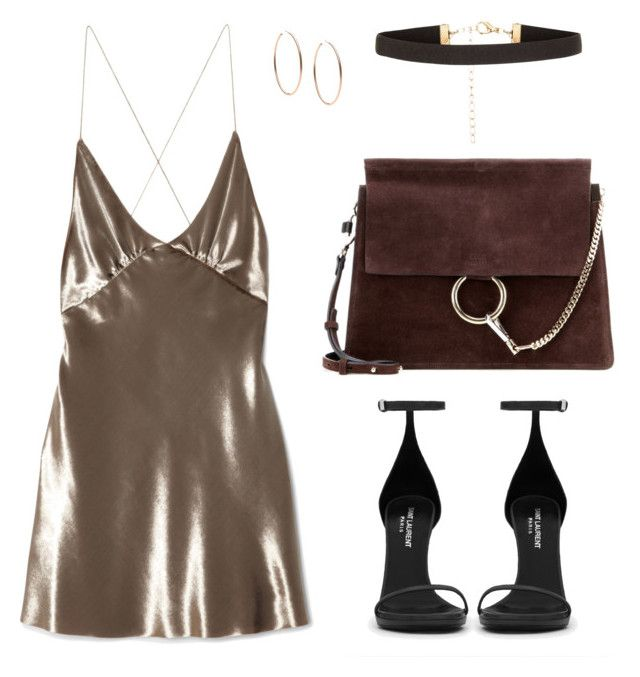 """Sleep dress"" by baludna ❤ liked on Polyvore featuring Marc Jacobs, New Look, Chloé, Michael Kors and Yves Saint Laurent"