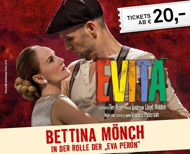 EVITA Startseite Mönch Ticket © VBW / Rafaela Pröll