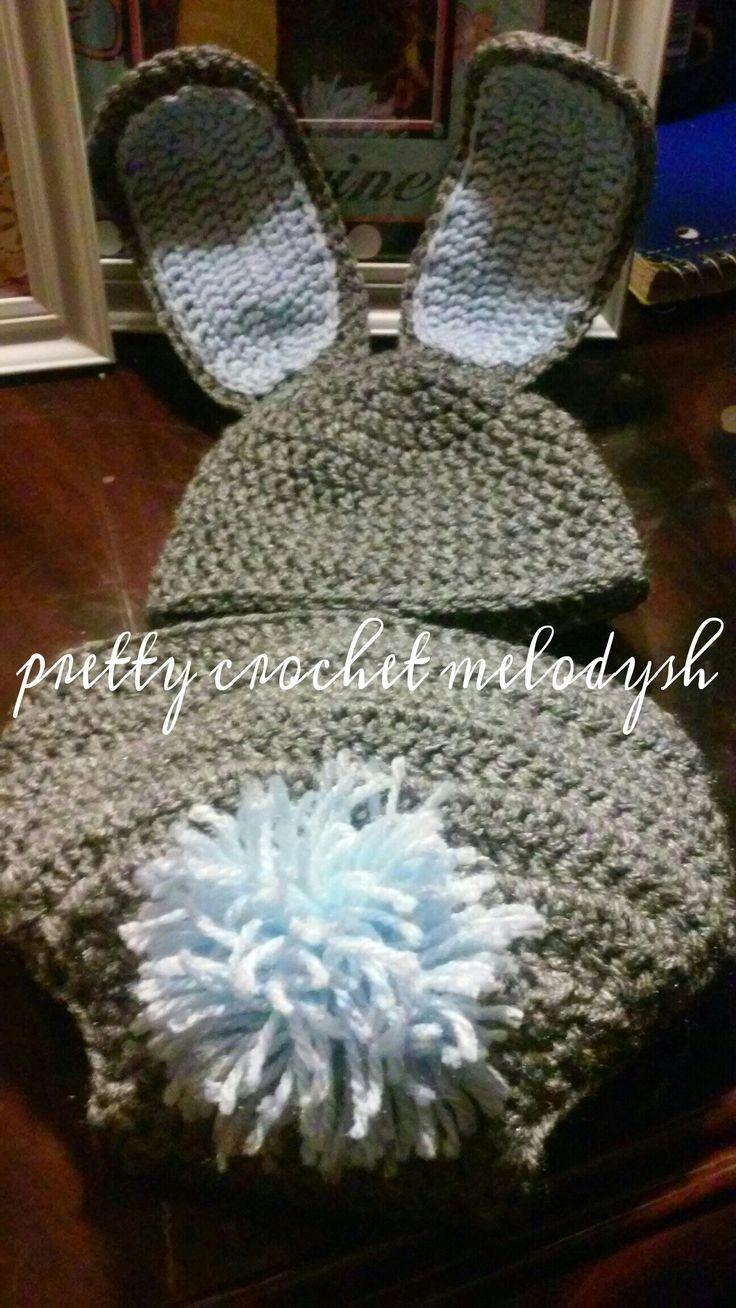 Bunny set crochet 🐇