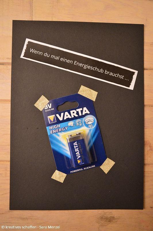 Wenn du mal einen Energieschub brauchst ... Batterien Wenn Buch | Bastelanleitung | Wenn Buch Ideen | Wenn Buch basteln | Geschenksidee | selbstgemachte Geschenke | Wenn Buch Vorlagen | Bastelvorlagen