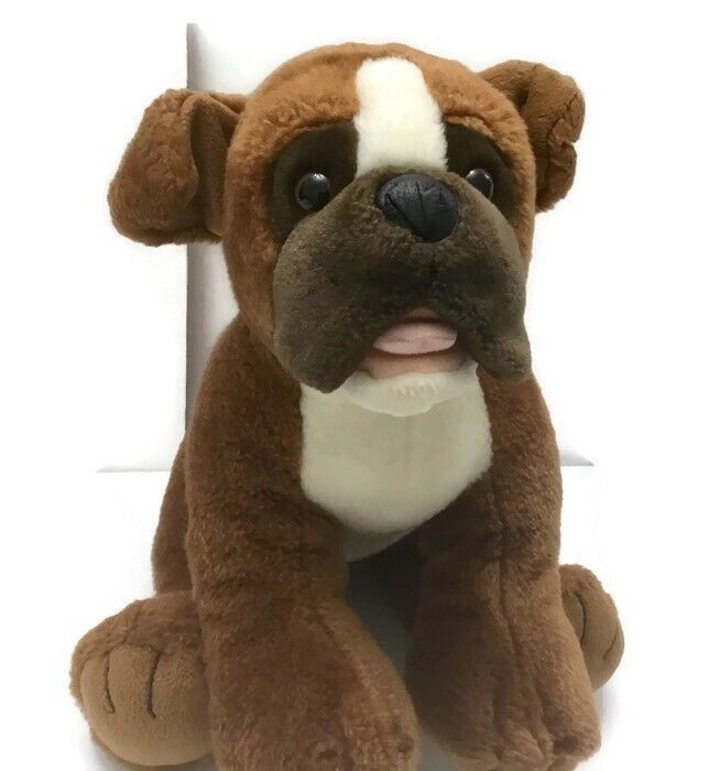 Bear Boxer Puppy Dog Plush