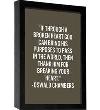 Oswald Chambers - thankful beyond words!