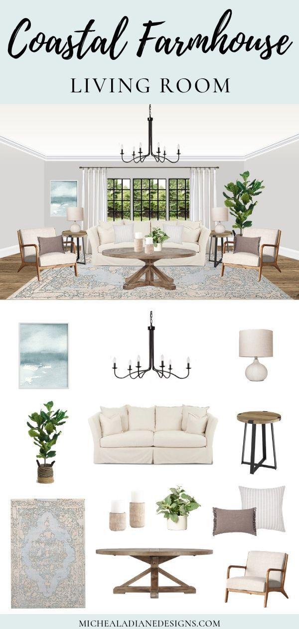 Get Inspired Coastal Farmhouse Living Room Farm House Living Room Modern Rustic Living Room Rustic Farmhouse Living Room