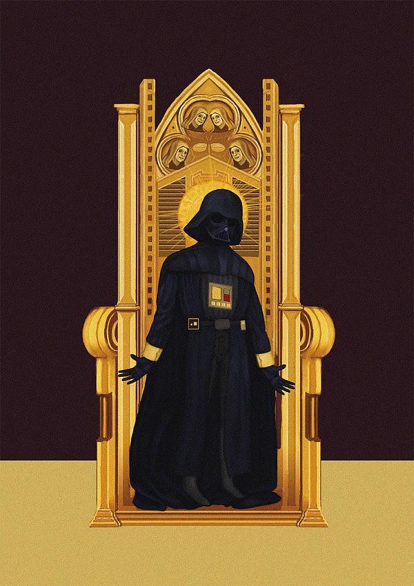 Star Wars in Manuscript by Chawakarn Khongprasert