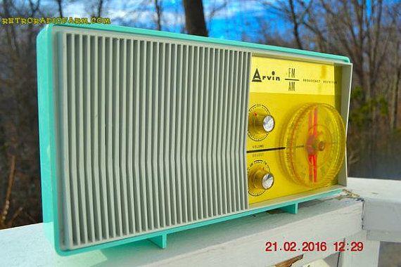 1959 Arvinの2585 AM管ラジオ