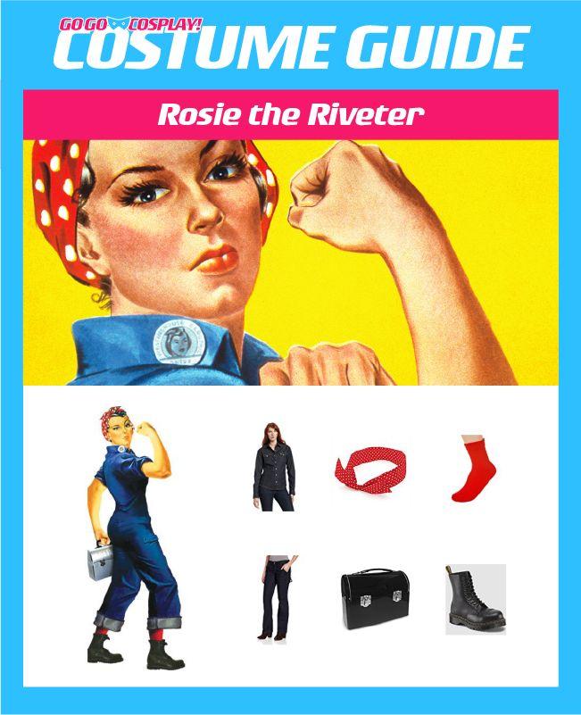DIY Rosie the Riveter Costume Guide