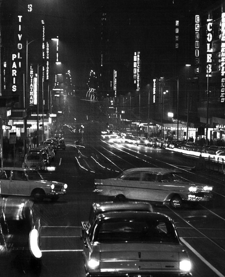 Bourke St, 1965