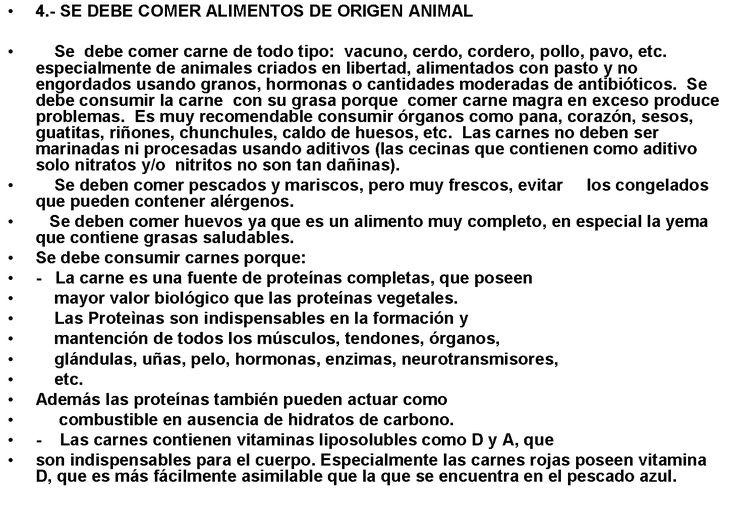 consejo 4a ALIMENTOS ORIGEN ANIMAL