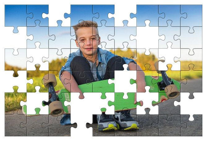 Free Jigsaw Puzzle Online - Skateboarder  #Game #JigsawPuzzle #Puzzle
