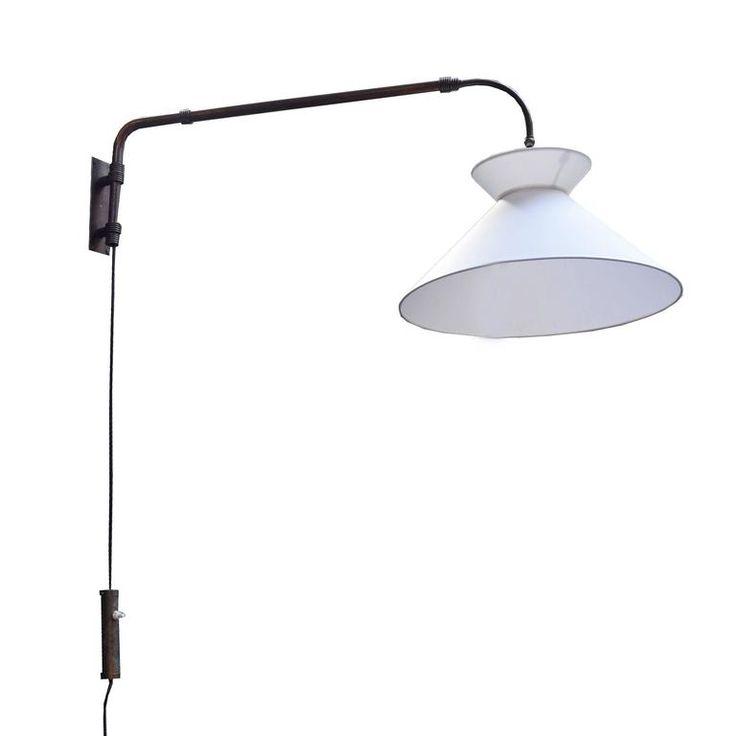 ($1850) Italian Swing Arm Lamp 1
