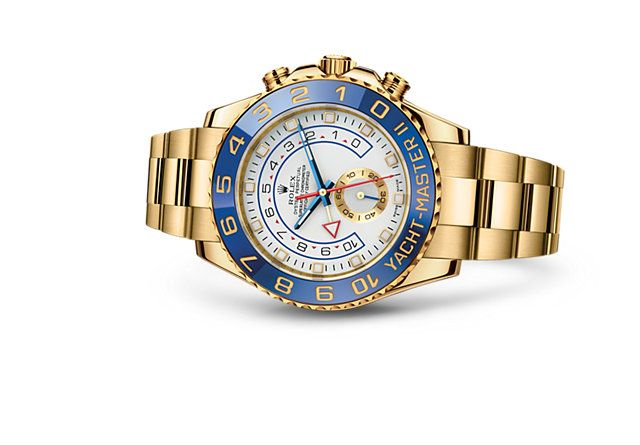 Discover the Yacht-Master II watch in 18 ct yellow gold on the Official Rolex Website. Model: 116688