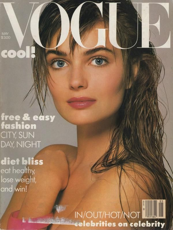 """PAULINA PORISKOVA. Definitely one of the most beautiful faces that guided me through my adolescence in the 80's. I didn't want to be her -- I just saw her everywhere in catalogs and magazines -- rather became """"familiar"""" friend to me. (One-sided deal.)"""