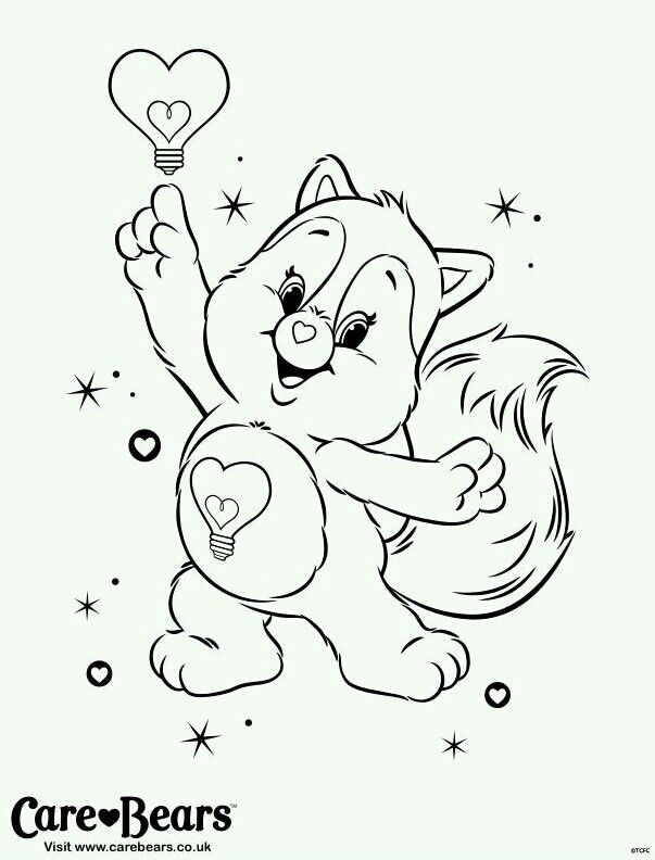 care bears cousins coloring pages - photo#15