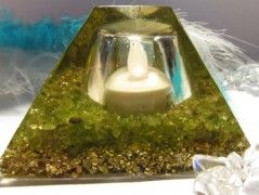 Orgonitová lampička