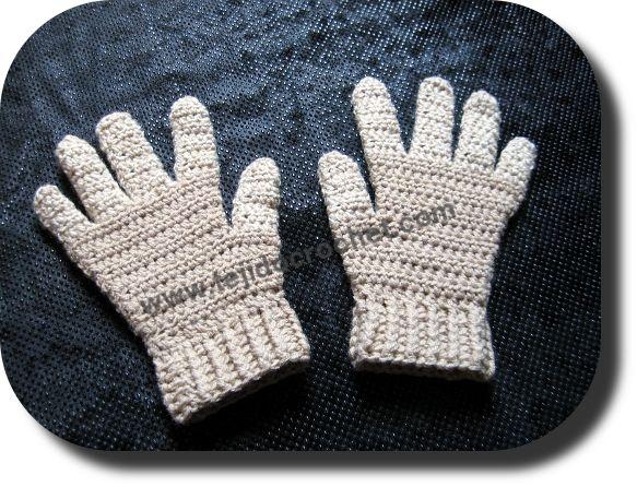 Mejores 101 imágenes de Guantes, manoplas, mitones a crochet. en ...