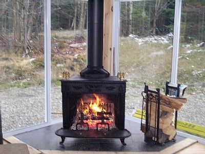 3 season room with wood burning stove google search for Wood burning stove for screened porch