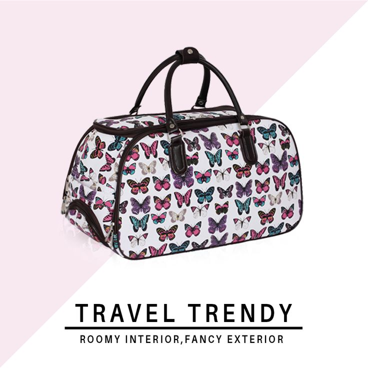 Luggage bags that make traveling at the more amazing; perfection down to the details. ❤