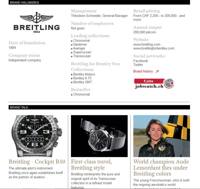 Discover the Breitling's latest news and novelties on WtheJournal.com