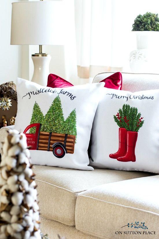 Christmas Decor at Sutton Place Designs
