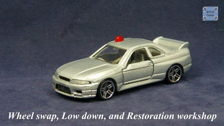TOMICA 085C NISSAN SKYLINE GTR R33 #WHEELSWAP #LOWDOWN | v.22 | GTR SILVER