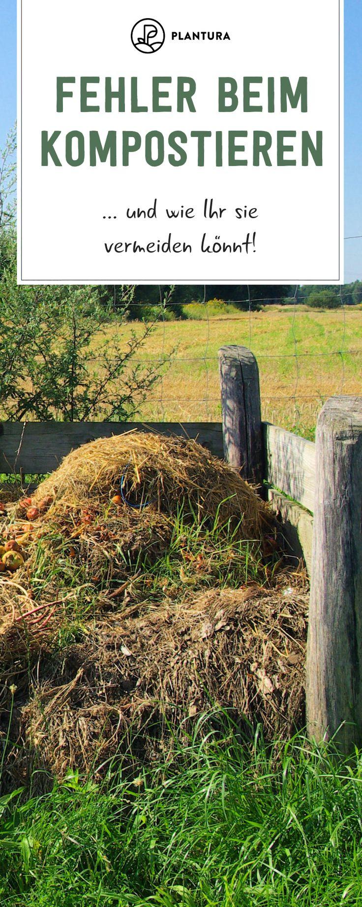 5 Fehler, die Sie beim Kompostieren unbedingt vermeiden sollten