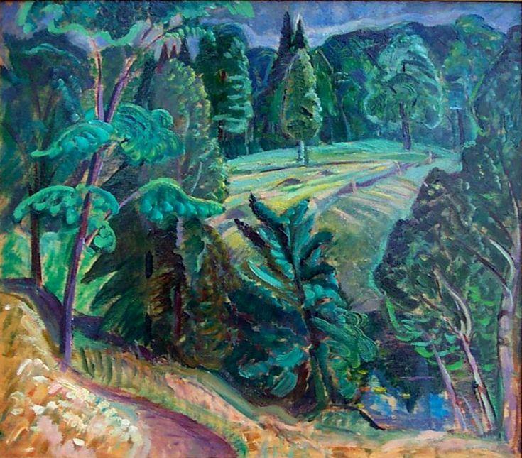 Laurentian Landscape (1935) - Anne Savage