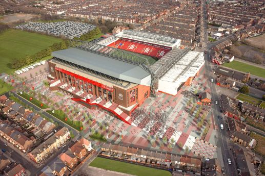 LFC reveal stadium expansion vision - Liverpool FC