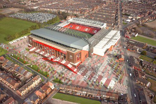 LFC reveal stadium expansion vision - Liverpool FC