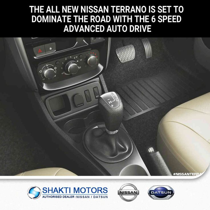 The all New #NissanTerrano is set to Dominate the #Road with the 6 Speed Advanced #AutoDrive. #ShaktiNissan : https://goo.gl/wd5YoY #ShowRoom in #NaviMumbai #MyCar #Drive #DatsunCar #NissanCar