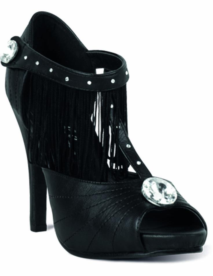 Deze luxe cabaret schoenen voor vrouwen zullen perfect geschikt zijn om uw cabaretdanseres carnavalskleding compleet te maken! - Nu verkrijgbaar op Vegaoo.nl
