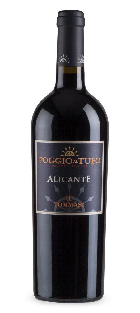 Poggio al Tufo Toscana IGT #Alicante #bouchet #Tommasiwine #Tuscany #wine http://www.poggioaltufo.it/wine/alicante/